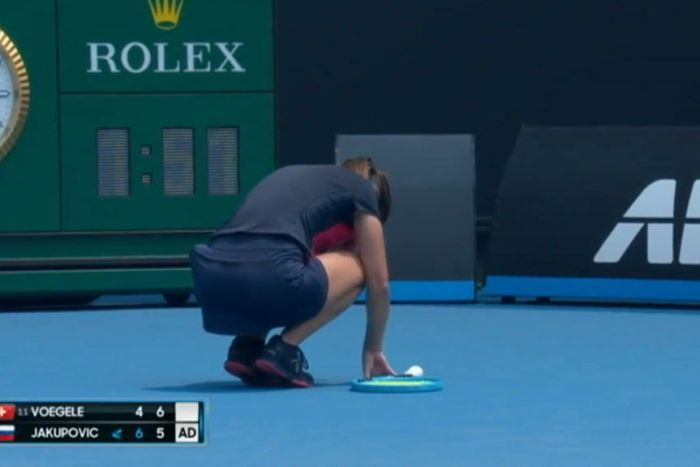 Tennis player retires from Aus Open qualifier after coughing fit
