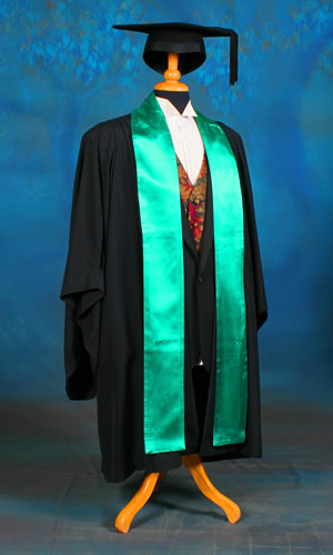 Faculty of Information Technology. Colour: spectrum green