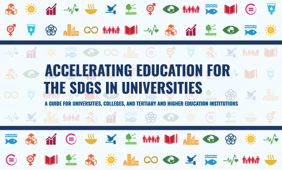 SDGs banner with icons