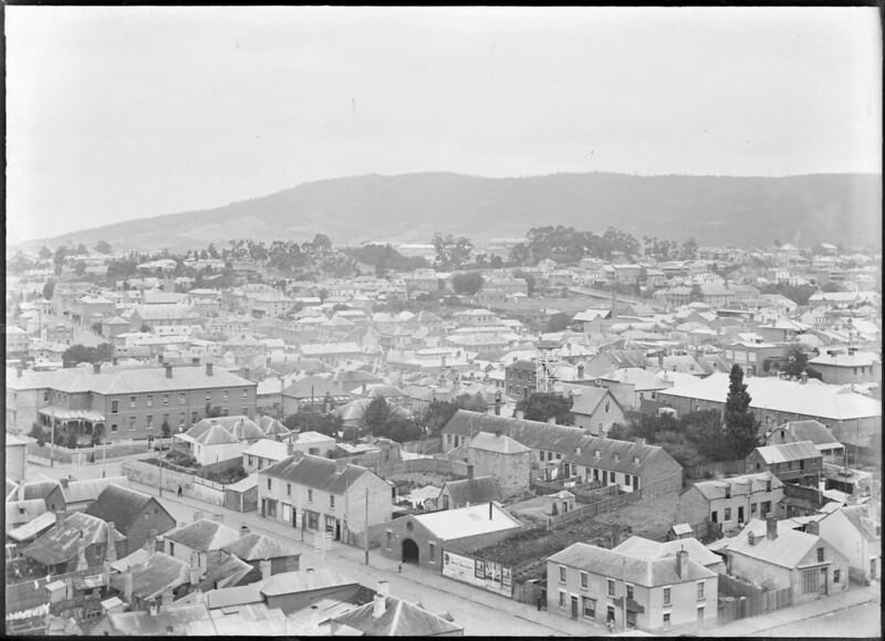 Murray Street, Hobart around the 1900s