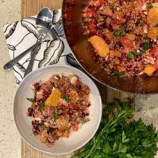 Beetroot, Pumpkin and Orange Couscous Salad