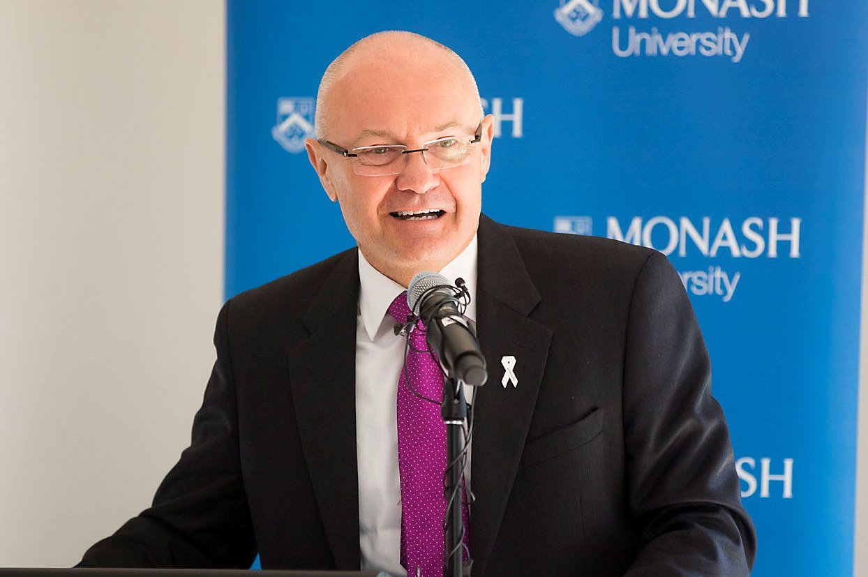 Dr Ken Lay's keynote address outlined some of the community attitudes that perpetuate violence against women