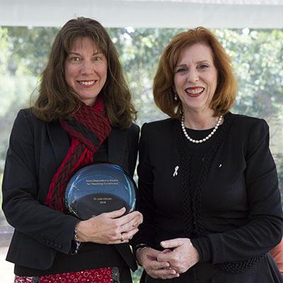 Dr Julia Choate and Professor Margaret Gardner