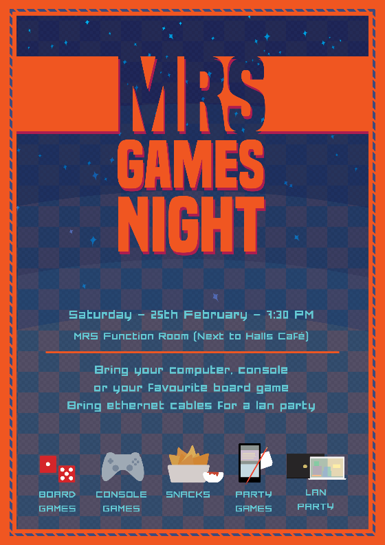 Games poster