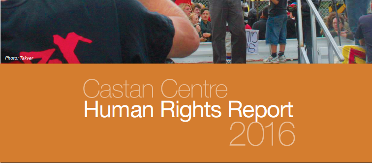 Human rights report 2016