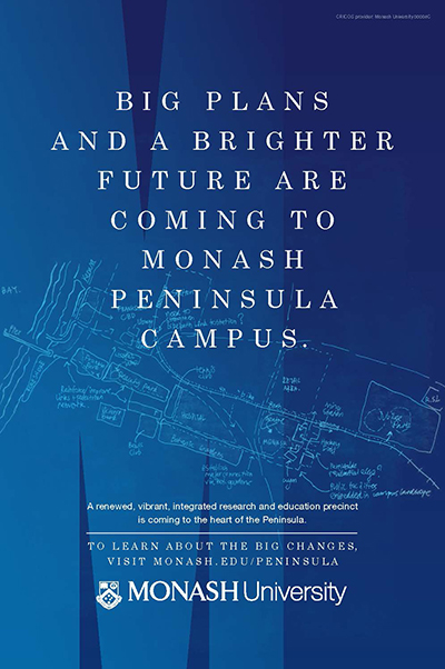 Peninsula campus plans flyer