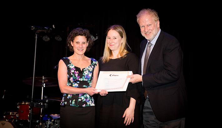 Robyn Moroney receives AFAANZ Award