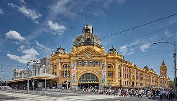 Flinders Station image