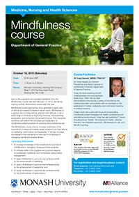 Mindfulness Workshop 2015 Flyer