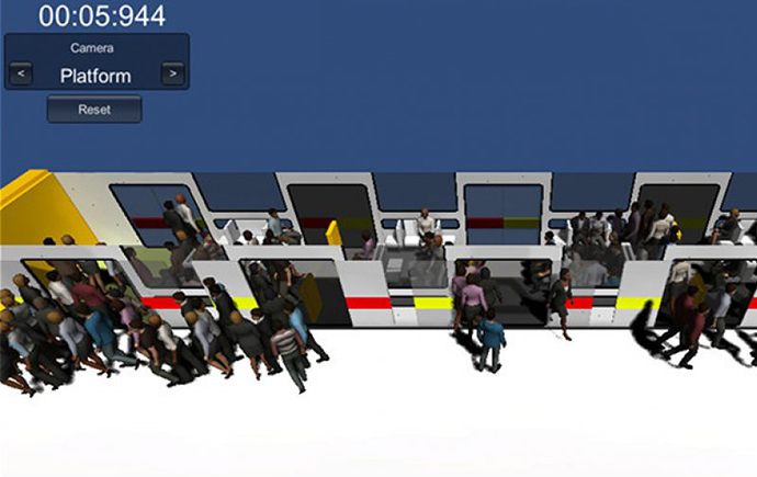 PASSENGER BOARDING AND ALIGHTING SIMULATIONS