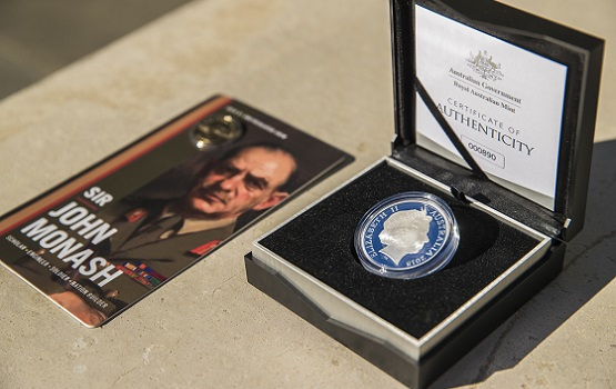 Royal Australian Mint releases Sir John Monash commemorative coins