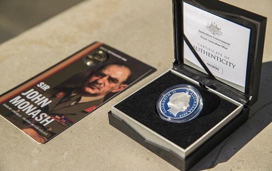 Royal Australian Mint releases Sir John Monash commemorative coins