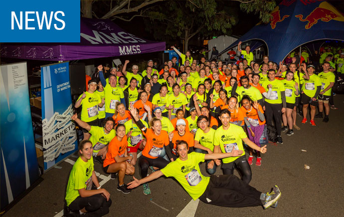 Monash Business School at Wings for Life World Run 2018