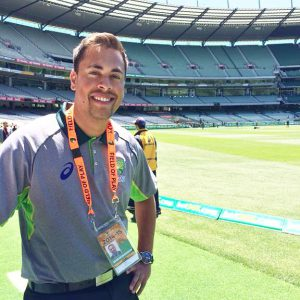 Aaron Pereira is now Cricket Australia's media coordinator.