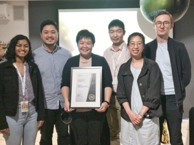Connie Wong and team