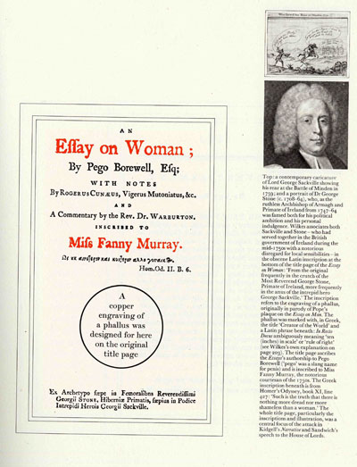 Wilkes an essay on woman