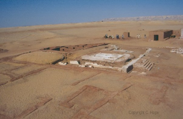 View overlooking the West Tombs, facing northwest