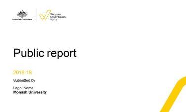 WGEA compliance report image