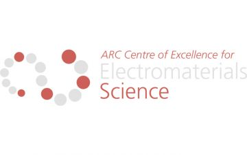 ARC Centre of Excellence for Electromaterials Science (ACES) Logo