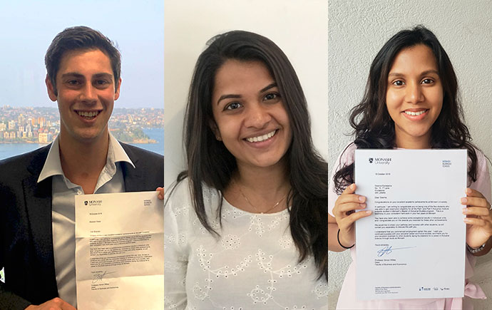 Students recognised for remarkable achievement in Actuarial Program