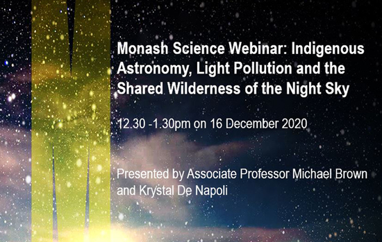 Indigenous Astronomy, Light Pollution & the Shared Wilderness of the Night S...
