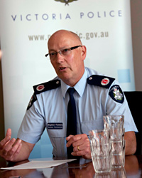 Steve Fontana, Victoria Police