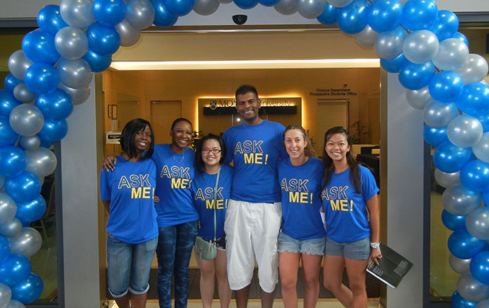 Open advising information sessions