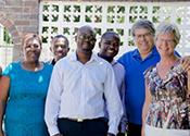 Karin Hammarberg visits Zimbabwe