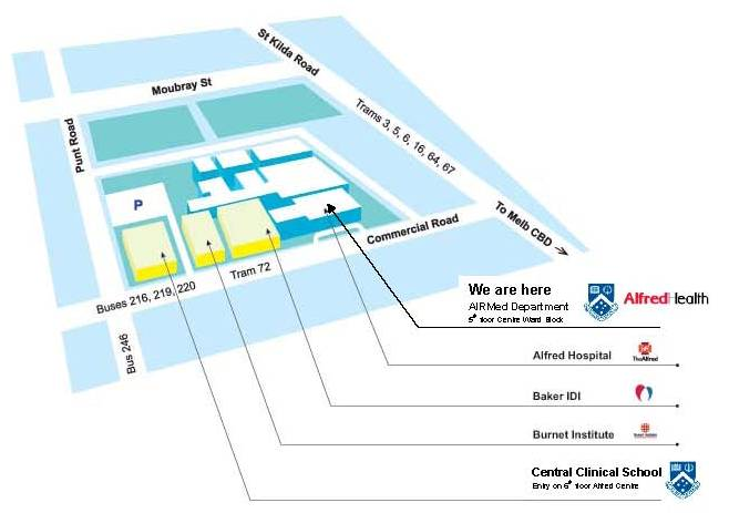 CCS AIRMed Map