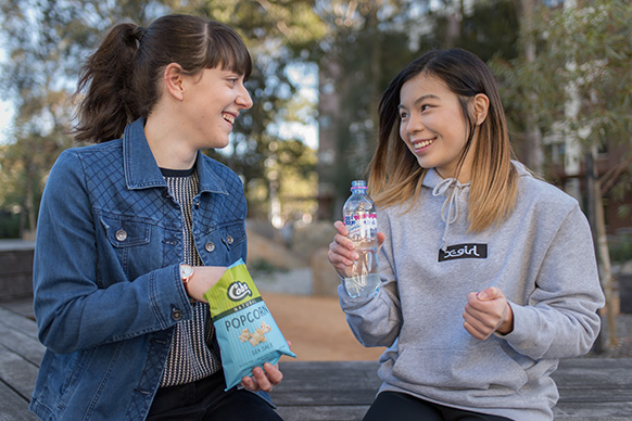 Win a week's worth of snacks for you and your friends