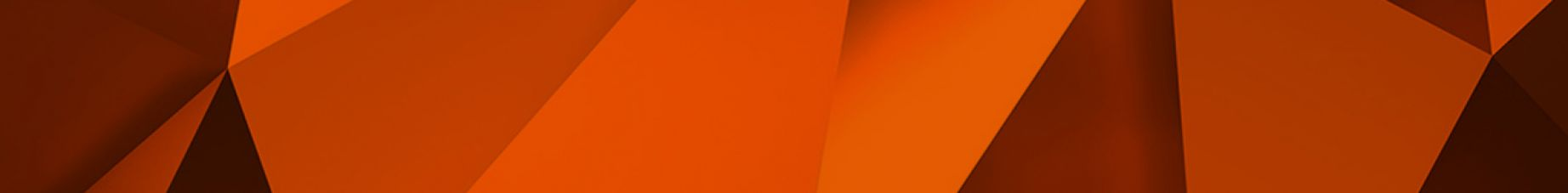 Geo abstract orange