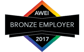Bronze employer banner