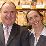 Lesley Gillespie OAM and Roger Gillespie OAM