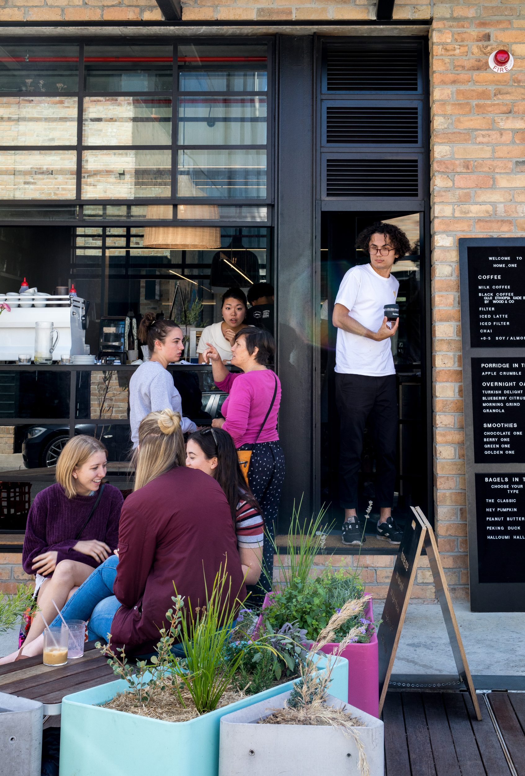 home.one, a cafe in Brunswick trains disadvantaged youth to help them with future employment