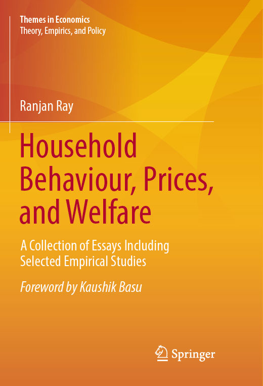Household Behaviour, Prices, and Welfare book cover