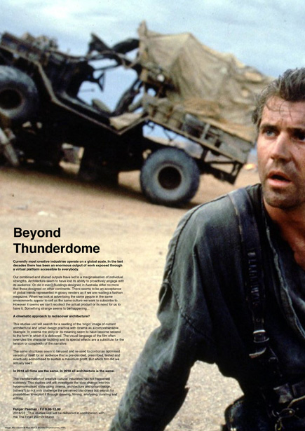 Beyond Thunderdome