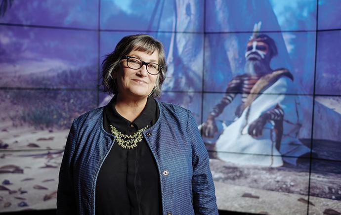 Professor Lynette Russell AM, director of the Monash Indigenous Studies Centre