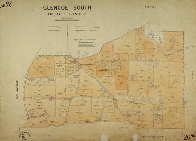 Glencoe South, county of Buln Buln