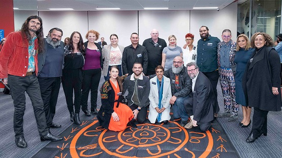 First cohort of students for the Master of Indigenous Business Leadership alongside esteemed staff and guests.jpg