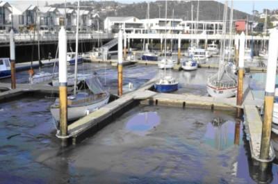 Seaport silt, Launceston