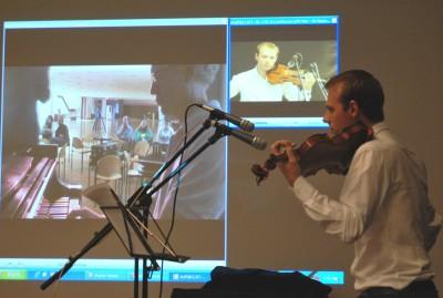 Edgar Kautzner creates a world-first in telematic music