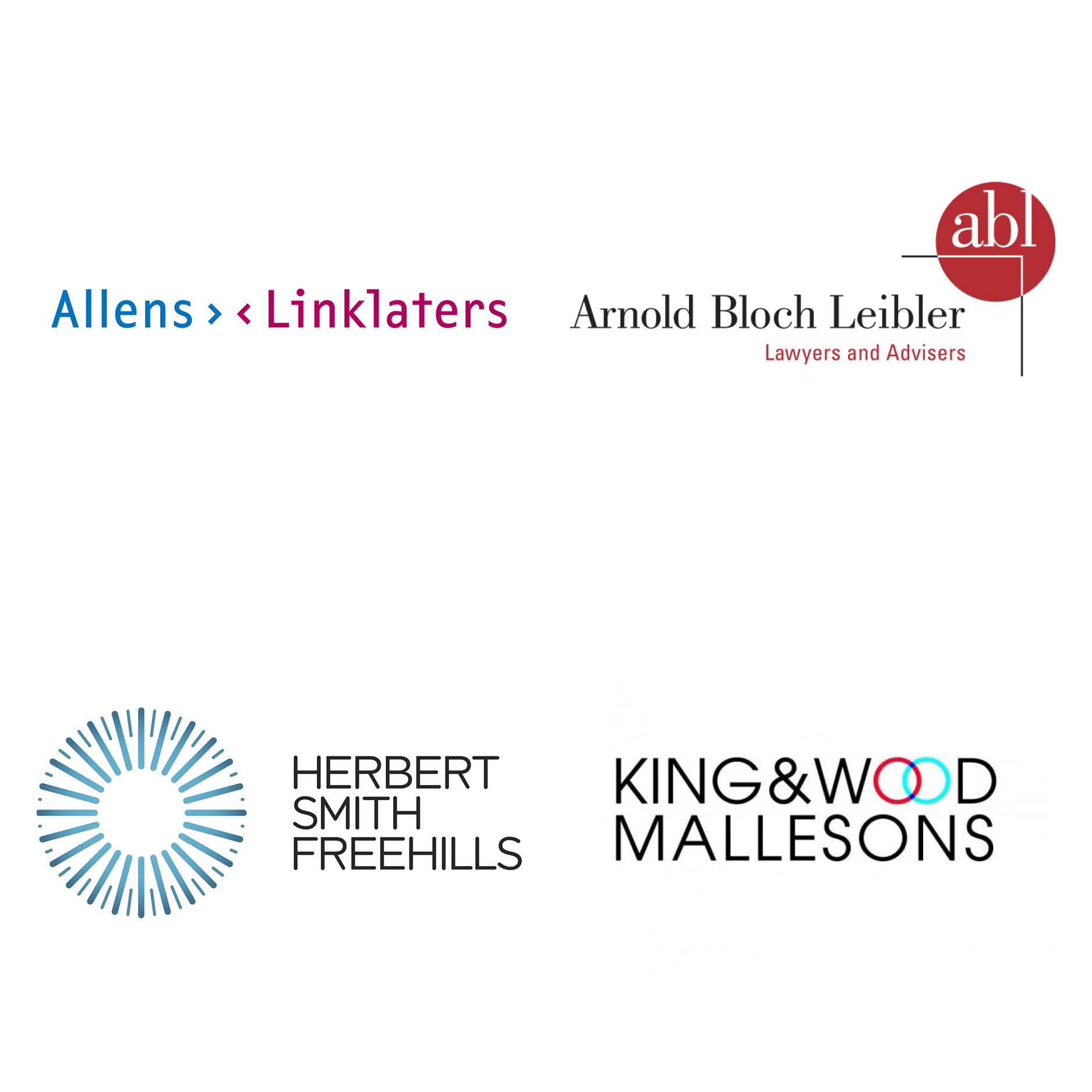 Law Review sponsors