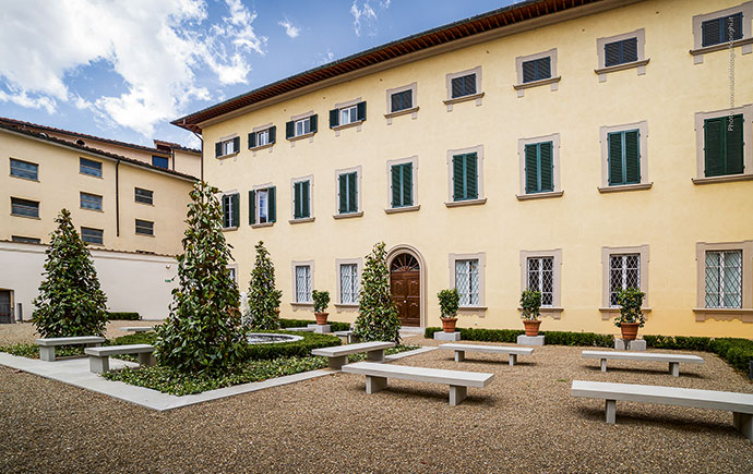 Italian garden takes root