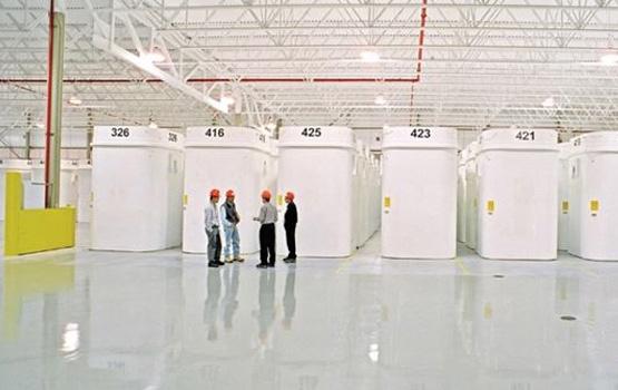 Dry storage facility