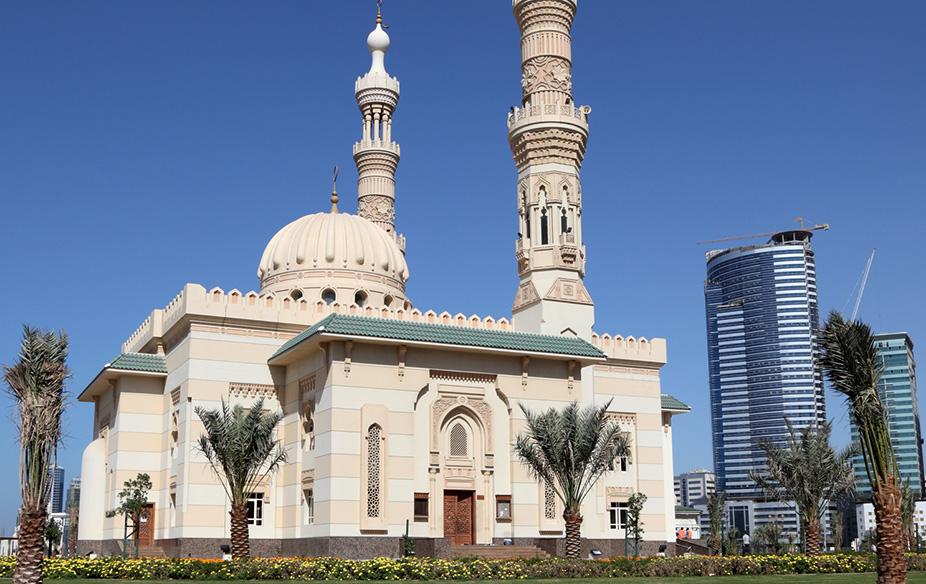 UAE, Mosque in Sharjah City