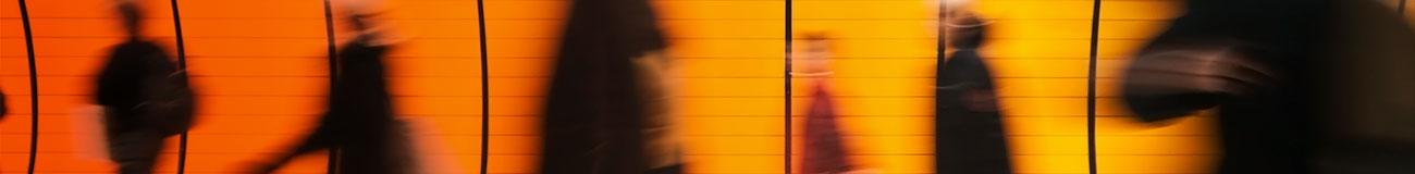 Commute shadows orange