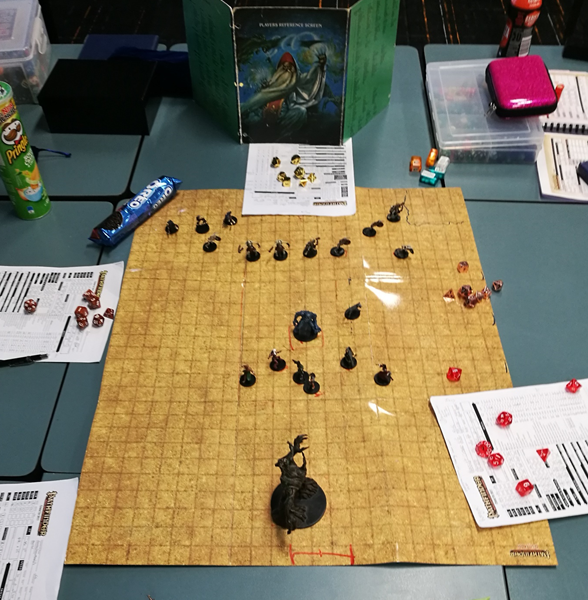 Language and table top games: recent PhD completion