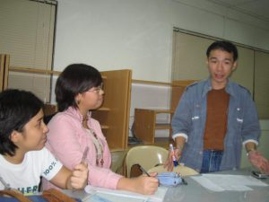 Production meeting for Pepot Artista, 2005