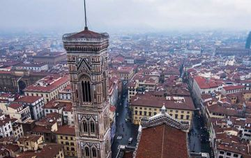Florence birds eye view