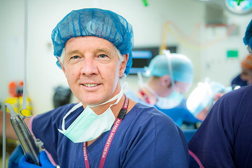 Professor Paul Myles, Head of Alfred Health's and Monash University's Department of Anaesthesia and Perioperative Medicine.